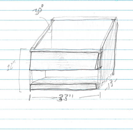 dimensions for a dutch tool chest