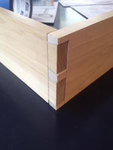 woodworking hand cut dovetails
