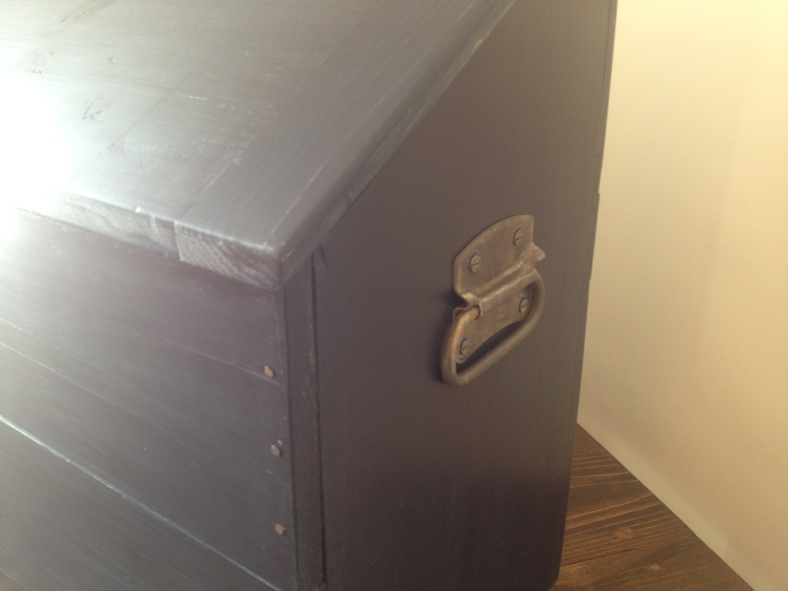 How to build a Dutch tool chest and antique hardware with citric acit
